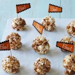 butterfinger popcorn balls