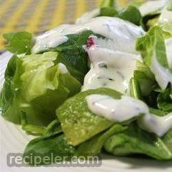 Buttermilk and Chive Salad Dressing