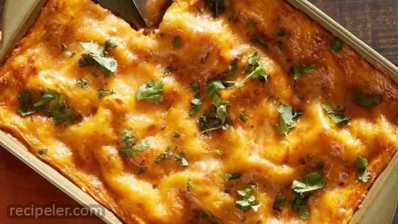 Butternut Squash Chorizo Lasagna