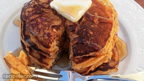 Butterscotch Pudding Pancakes