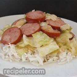 Cabbage and Kielbasa