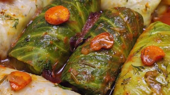 Cabbage Rolls With Quinoa