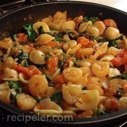 Cajun Shrimp Orecchiette