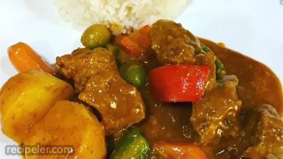 Caldereta (Filipino Beef and Chorizo Stew)