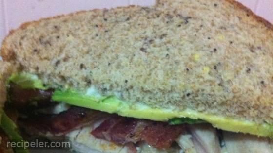 California Club Turkey Sandwich