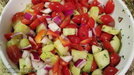 California Style sraeli Salad