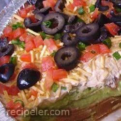California Taco Dip