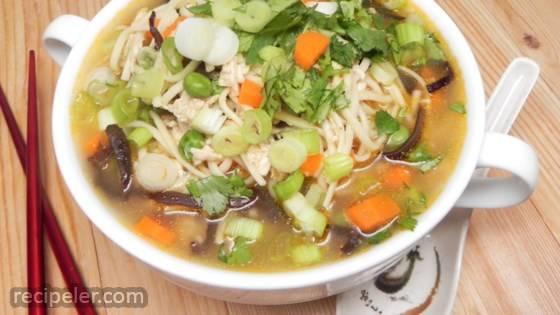 Cambodian Lemongrass Chicken Soup