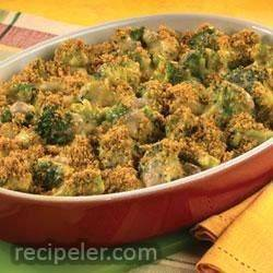 campbell's kitchen broccoli and cheese casserole