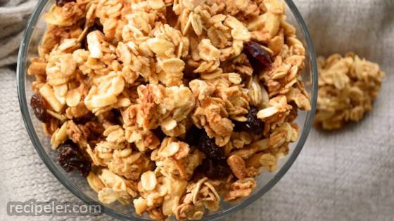 Canadian Vegan Peanut Butter Granola Recipe