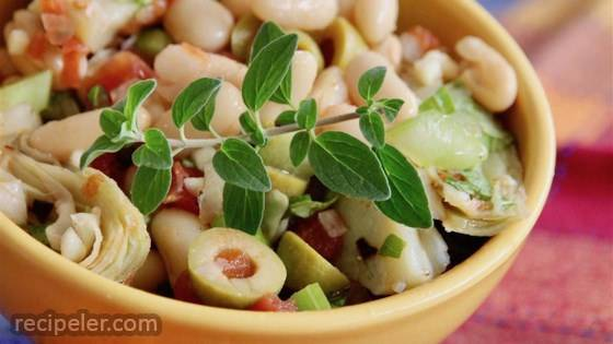 Cannellini Bean and Artichoke Salad