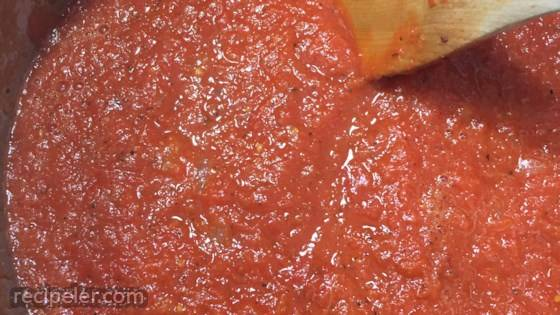 Canning Pizza or Spaghetti Sauce from Fresh Tomatoes