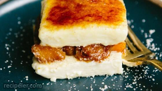 Cardamom Creme Brulee Parfait with Candied Pumpkin