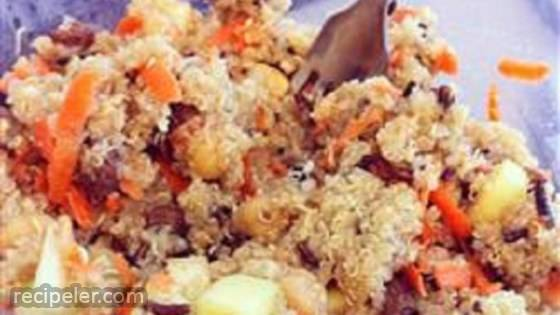 Carrot Cake Quinoa