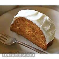 Carrot Cake with PHLLY Cream Cheese cing