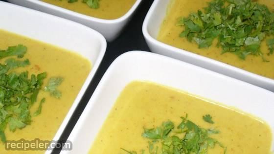 Carrot Coconut Lime Soup