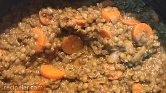 Carrots and Lentils
