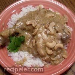 Cashew Chicken Casserole