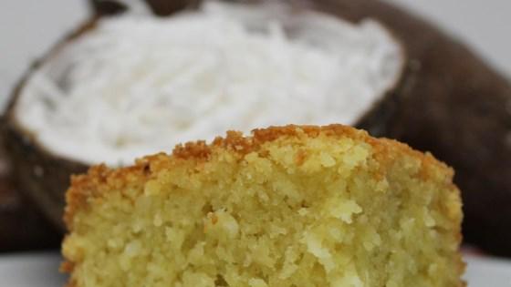 cassava-coconut cake