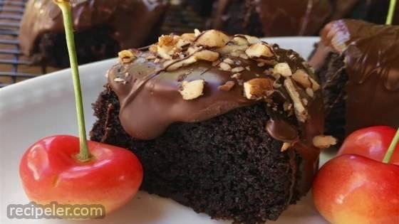 Cassava Flour Chocolate Mayonnaise Cake
