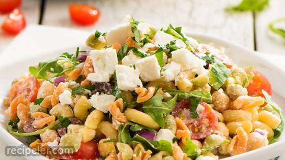 Catelli Bistro Rainbow Pasta Salad with Lemon Tahini Dressing