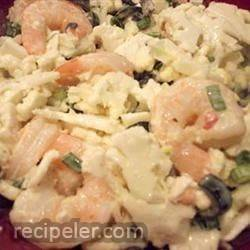 Cauliflower Shrimp Salad