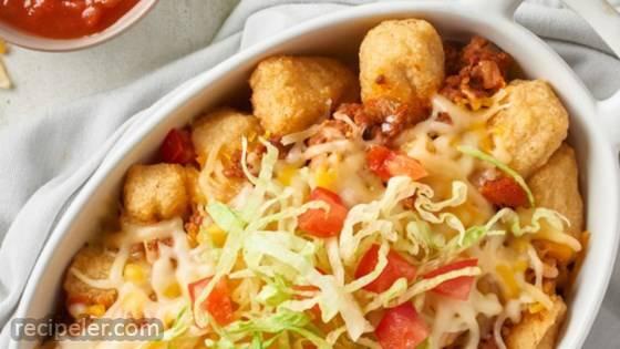 Cauliflower Totchos