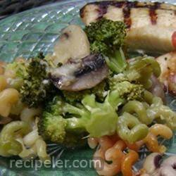 Cavatelli, Broccoli and Mushrooms