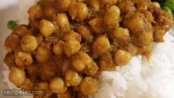 Chana Masala (Savory ndian Chick Peas)