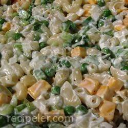 Cheddar And Macaroni Salad