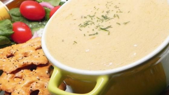 cheddar-beer fondue