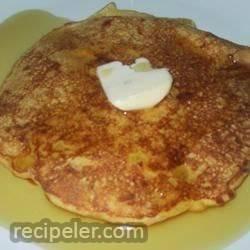 Cheddar Corn Pancakes
