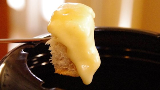 cheese fondue with a twist