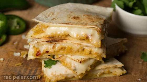 Cheese 'N Rice Quesadillas