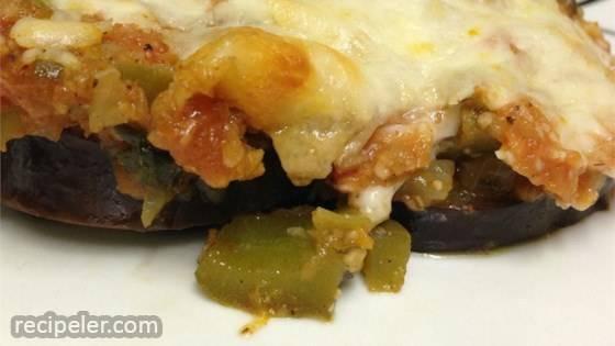 Cheesy Baked Eggplant