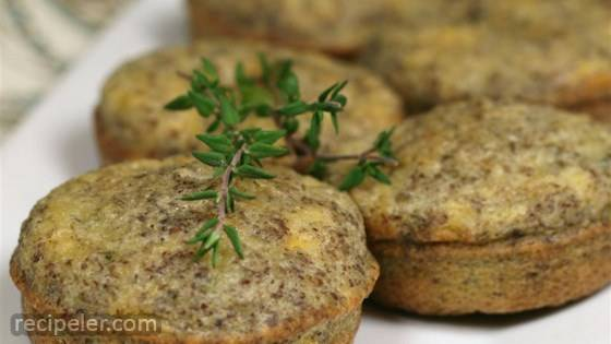 Cheesy Grain-Free Protein Muffins