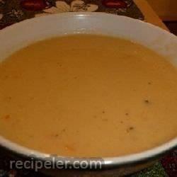 Cheesy Leek and Mustard Soup