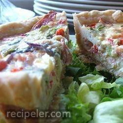cheesy quiche crust