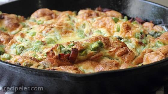 Chef John's Bacon and Asparagus Dutch Baby