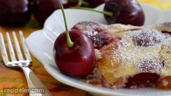 Chef John's Cherry Clafouti