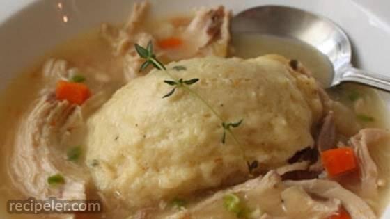 Chef John's Chicken and Dumplings