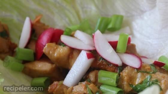 Chef John's Chicken Lettuce Wraps