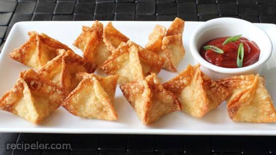 Chef John's Crab Rangoon