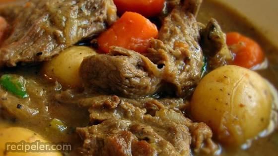 Chef John's rish Stew