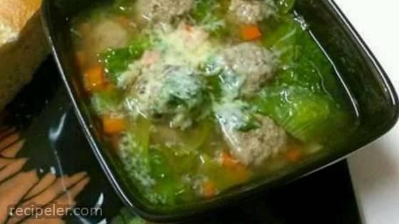 Chef John's talian Wedding Soup