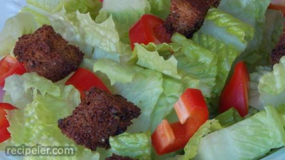 Chefkatie's Whole Wheat Croutons
