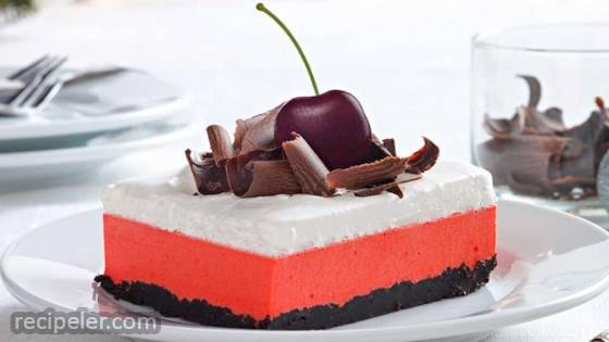 Cherry-Chocolate Layered Dessert