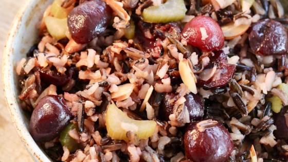 cherry wild rice