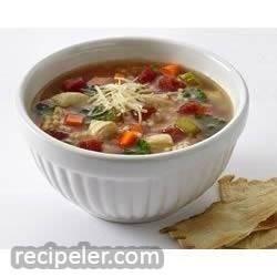 Chiarello's Chicken and Pastina Soup