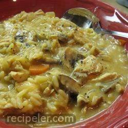 Chicken and Mushroom Chowder